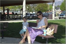 Fun at the Park with Mommy!
