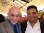 Con el Maestro       José Antonio Abreu