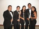 Fila de Flautas de la Orquesta Sinfónica de Lara
