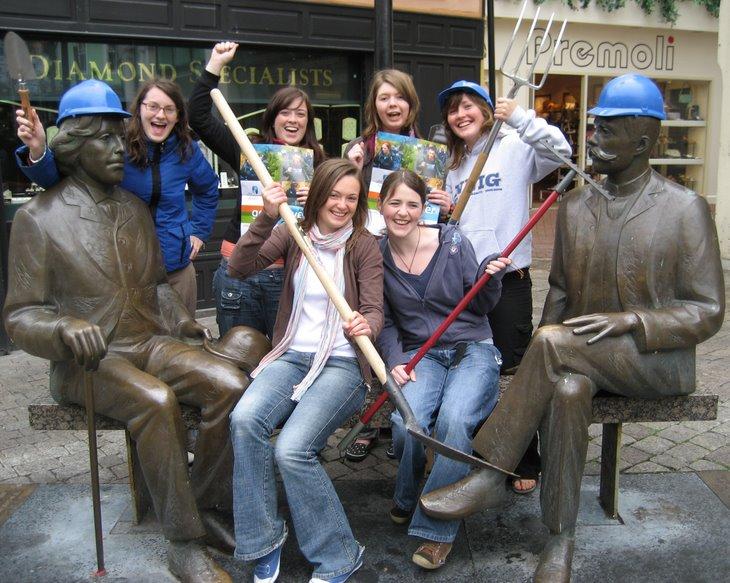 NUI Galway Students prepare to volunteer in Estonia