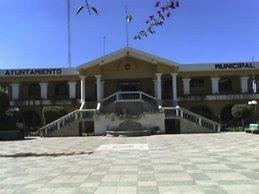 Palacio Municipal de Santiago Sacatepéquez