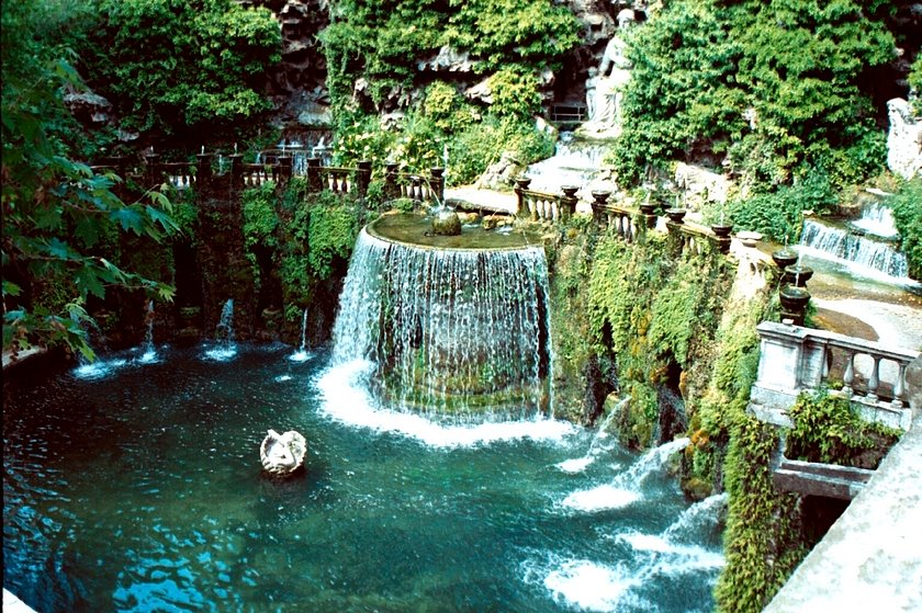 Villa de Este~Rome.....photo taken by D.Marshall