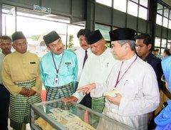 PM Abdullah, TYT Tun Khalil & CM Ali Rustam common interest in tin money