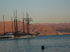 The Red Sea from Eilat