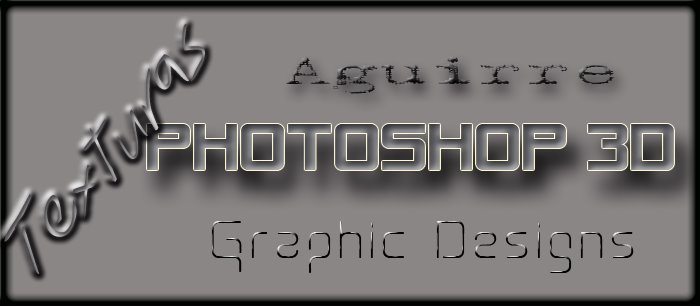 TEXTURAS PHOTOSHOP 3D