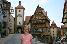 Morgan in Rothenburg