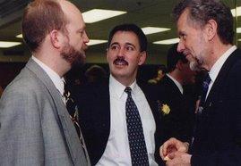 Bill and former Premier Glen Clark & cabinet minister John Cashore