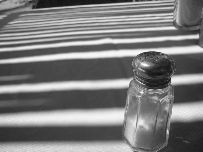 Poniendo la sal