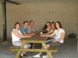 Het gezin Weersink heet u van harte welkom!