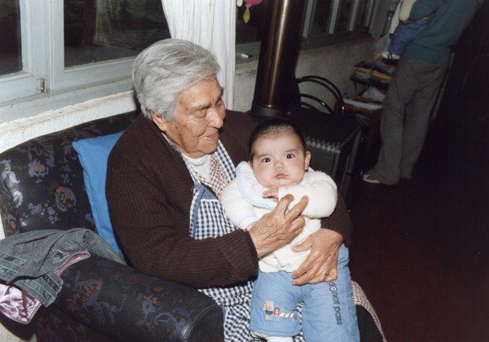 Mi abuelita de Cauquenes