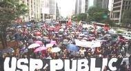 todos a luta por  uma  universidade  publica e  de qualidade para todos