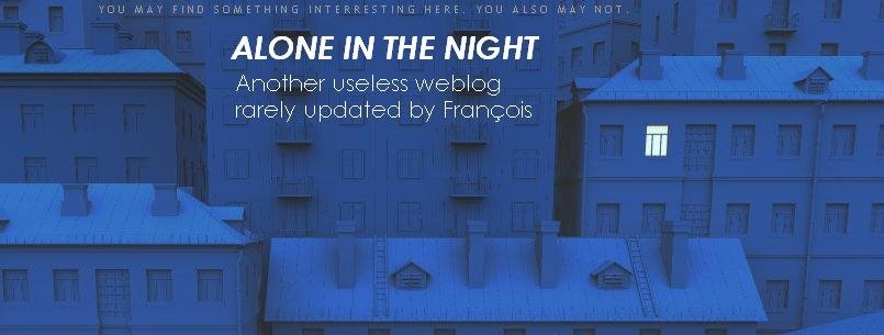 Lone in the night