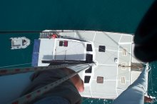view from top of the mast