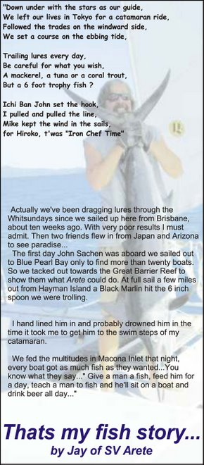 Fish Story from The Costal Passage