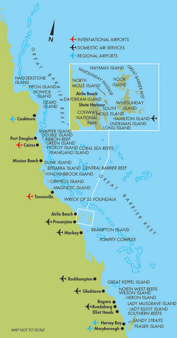 Islands of the Queensland coast