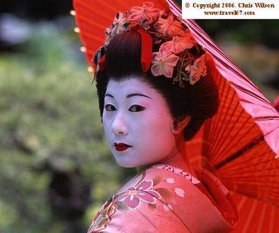 Fotos de geishas japonesas reales