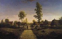 The Village of Becquigny, c. 1857