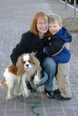 Mom, Jonathan, Dibley