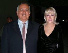 Fernando MorenoPeña y su Esposa Hilda Ceballos