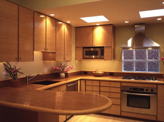 Bamboo Kitchen Cabinetry & Counter