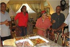 Dad, Tamii, Grandma Miller & Danny