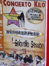 CONCIERTO A FAVOR DEL PUEBLO SAHARAUI !!Entrada simbolica 1 KILO de comida!!!!
