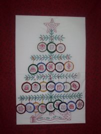 ADVENT CALENDAR WALLHANGING