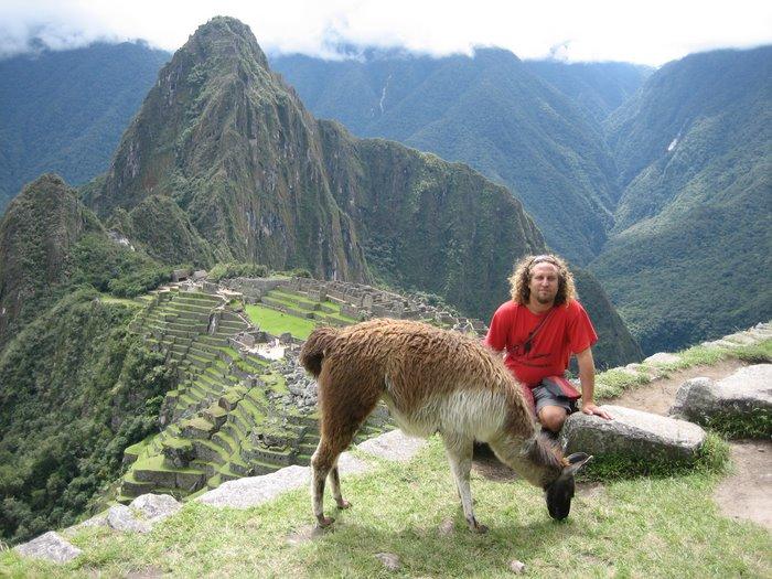 Me,Llama and Machu Picchu