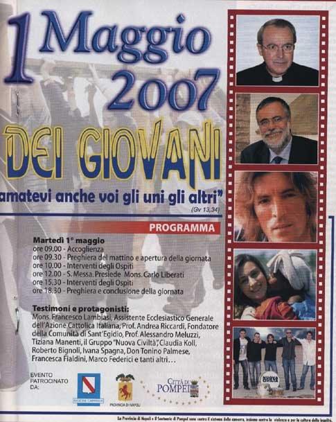 IL Rosario di Pompei aprile 2007