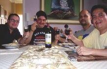 La buena mesa y el buen vino
