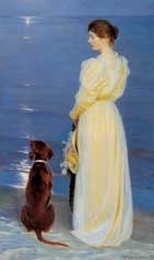Summer Evening at Skagen = P S Kroyer