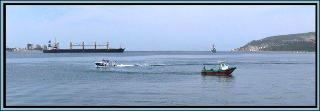 Maritime Scene at Setubal, Portugal