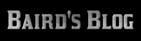 Baird's Blog