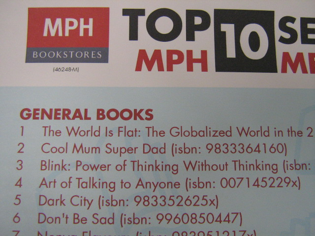 Bestseller List