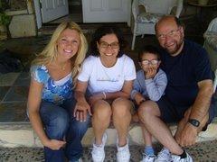 Me, Sinara, Rafael, and Barbosa