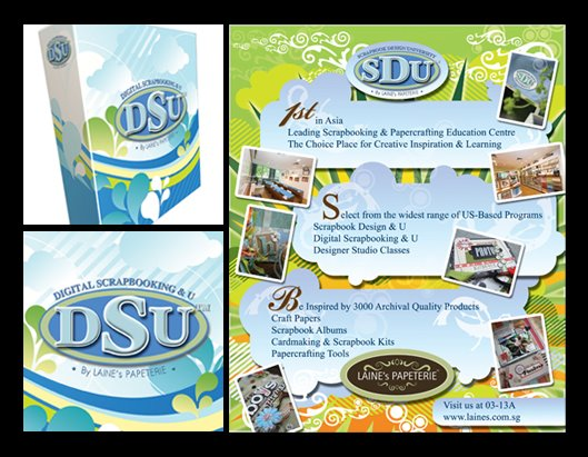 scrapbook design university