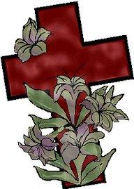 na cruz a ressurreição