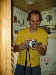 Aquí estoy con la cámara