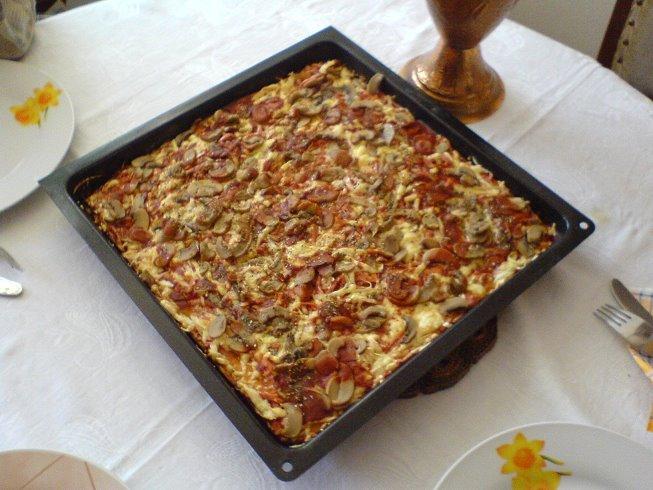 Mum's Pizza!!!