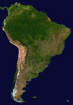 IMAGEM: AMÉRICA DO SUL