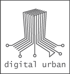 Digital urban logo