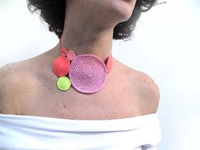 collar crochet 2d