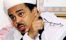 Habib Riziek, pimpinan FPI