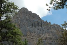 Cathedral Rock near Mt. Charleston