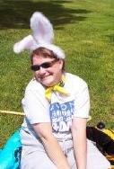 Meg as Easter Bunny