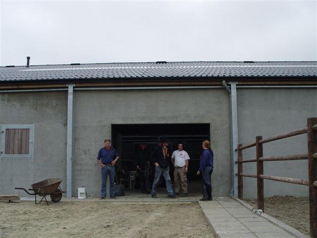Trainingstal en KI station Equus