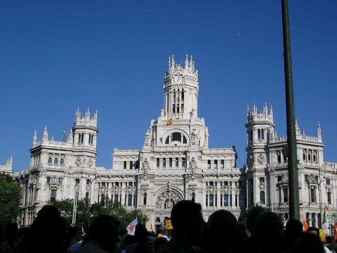 Palacio de Comunicaciones.