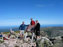 Katahdin Summit Picture Summer 2005