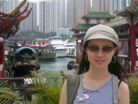 Me at Hong Kong