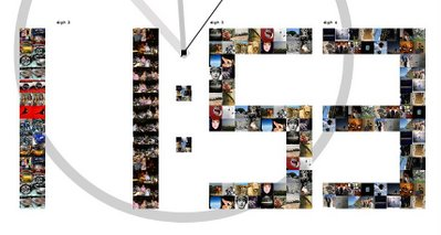 Flickr Digital Clock